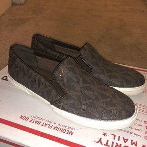 Michael Kors slip on shoes like new